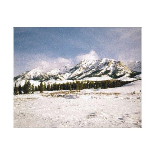 Mountain View de Boulder Impresiones En Lienzo Estiradas