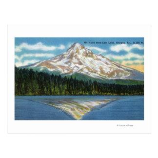 Mountain View del lago perdido Postal