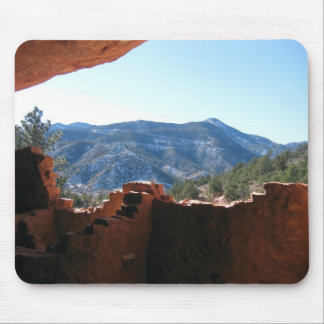 Mountain View from Cliff Dwellings Mouse Pad