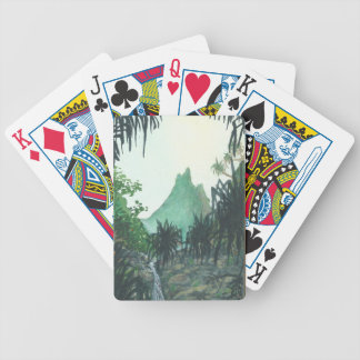 Mountain View From Kee'e Beach Bicycle Card Deck