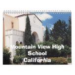 Mountain View High School  1970s - 80s Calendar