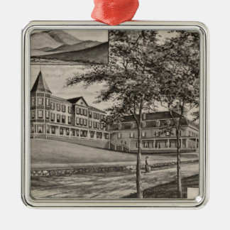 Mountain View House, Whitefield, NH Metal Ornament