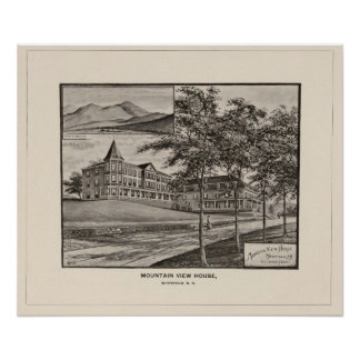Mountain View House, Whitefield, NH Poster