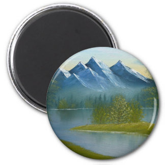 Mountain View Refrigerator Magnets