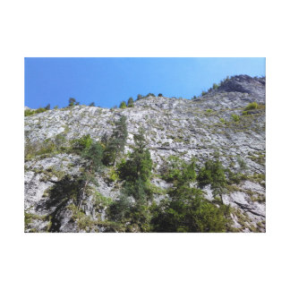 Mountain View Of Bicaz Gorge, Romania Canvas Print
