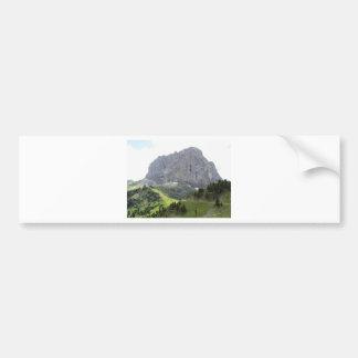 Mountain View panorámico Pegatina Para Coche