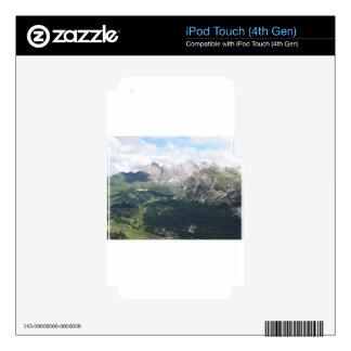 Mountain View panorámico iPod Touch 4G Calcomanías