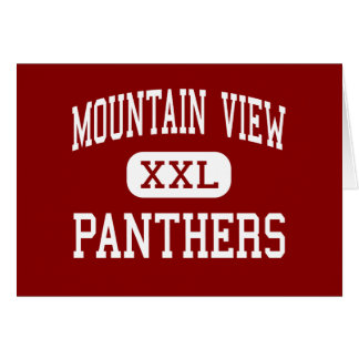 Mountain View - Panthers - Middle - Moreno Valley Card