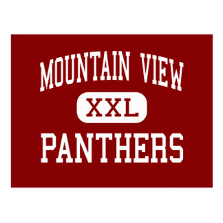 Mountain View - Panthers - Middle - Moreno Valley Postcards