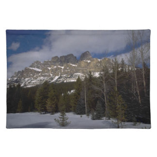 Mountain View Placemat Cloth Placemat