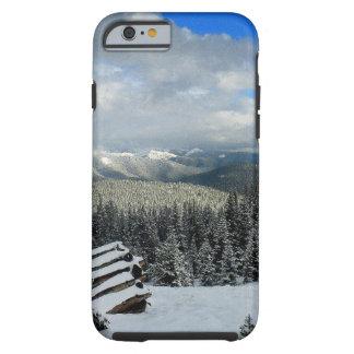 Mountain View rocosos Funda De iPhone 6 Tough