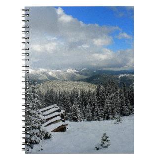 Mountain View rocosos Libro De Apuntes Con Espiral