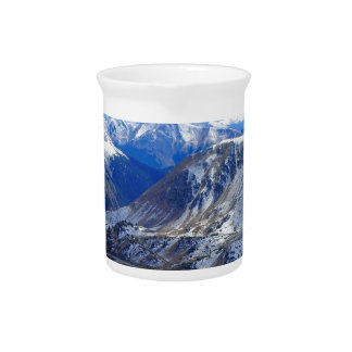 Mountain View Top Of World Drink Pitcher