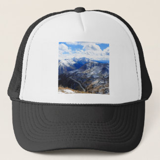 Mountain View Top Of World Trucker Hat