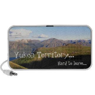 Mountain View; Yukon Territory Souvenir Mini Speaker