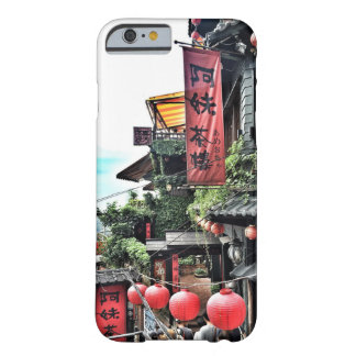 Mountain village and Chinese teahouse Barely There iPhone 6 Case