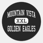 Mountain Vista - Golden Eagles - Highlands Ranch Classic Round Sticker