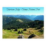 Mountain Vista of Hurricane Ridge Postcard