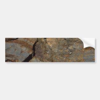 Mountain wall bumper sticker