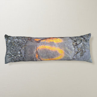 Mountain wall number 10 body pillow