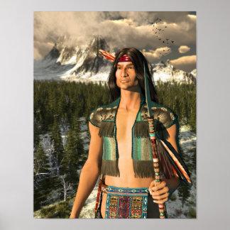 Mountain Warrior Poster
