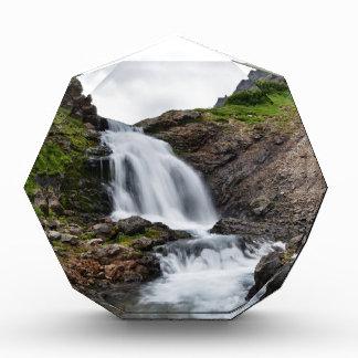 Mountain waterfall in Kamchatka Peninsula Award