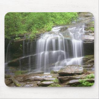 Mountain Waterfall Mouse Pad