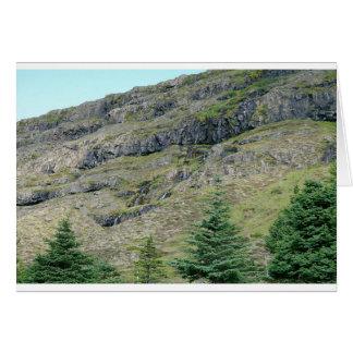 Mountain Waterfalls greeting cards