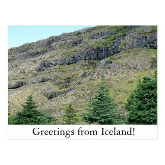 Mountain Waterfalls postcard