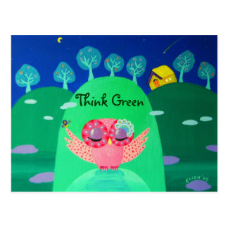 Mountain Whispers - Think Green Postcard