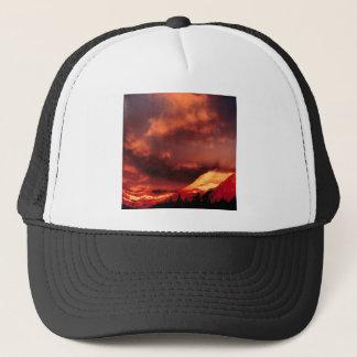 Mountain Wilber Glacier Park Montana Trucker Hat