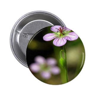 mountain wildflower button