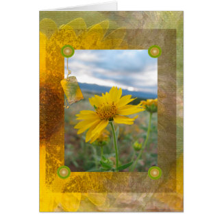 Mountain Wildflower Greeting Card
