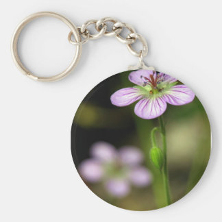 mountain wildflower keychain