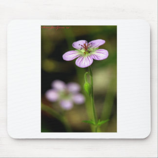 mountain wildflower mouse pad