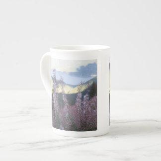 Mountain Wildflower Porcelain Mug