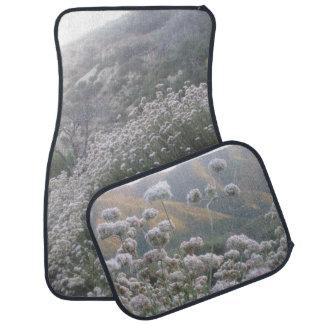 Mountain Wildflowers Car Floor Mat