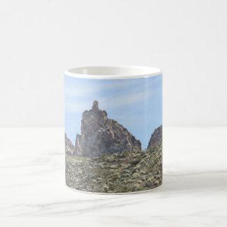 Mountain with attitude coffee mug