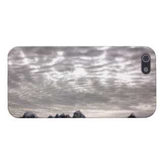 Mountain with cruiseship in the Pole iPhone SE/5/5s Case