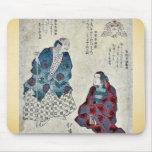 Mountain woman by Totoya, Hokkei Ukiyoe Mouse Pad