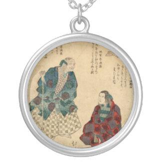 Mountain Woman, Vintage Art 1830s Custom Jewelry