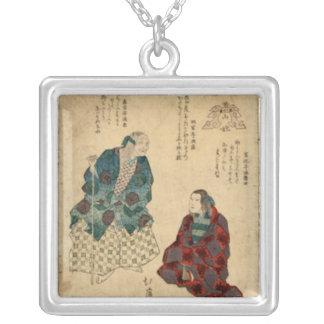 Mountain Woman, Vintage Art 1830s Necklaces