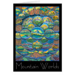 Mountain Worlds Drawings Cards