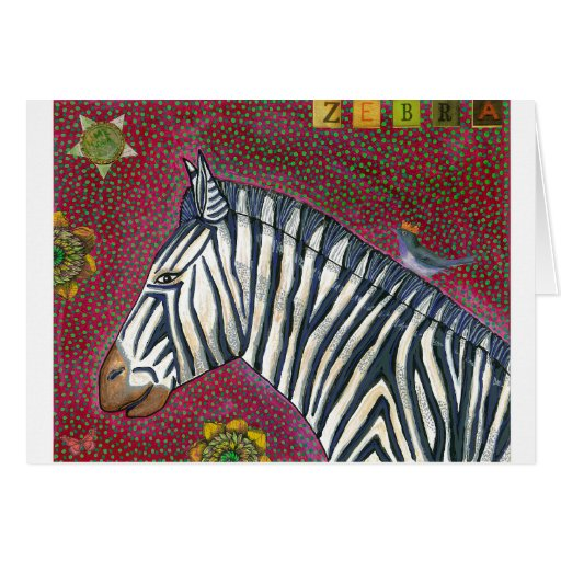 Mountain Zebra Greeting Card