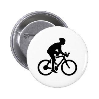 Mountainbike cycling 2 inch round button