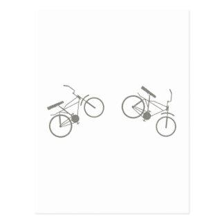 Mountainbike mountain bike tarjetas postales