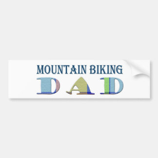MountainBikingDad Bumper Sticker