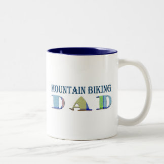 MountainBikingDad Two-Tone Coffee Mug