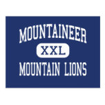 Mountaineer Mountain Lions Middle Clarksburg Postcard
