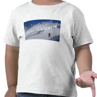 Mountaineer on the Tasman Glacier in Mount T Shirts